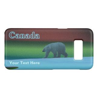 Capa Case-Mate Samsung Galaxy S8 Urso polar de luzes polares