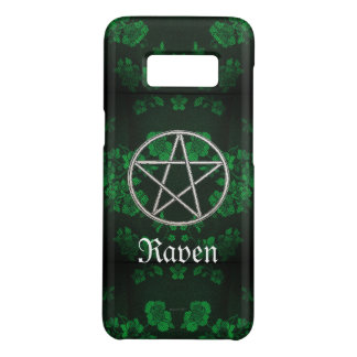 Capa Case-Mate Samsung Galaxy S8 Verde eterno gótico do Pentacle