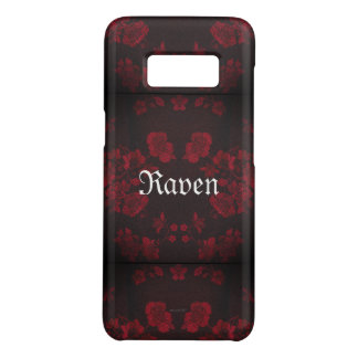 Capa Case-Mate Samsung Galaxy S8 Vermelho eterno gótico de Name* do *Your