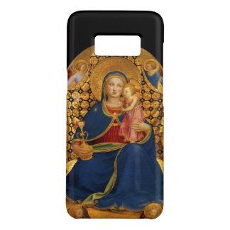 Capa Case-Mate Samsung Galaxy S8 VIRGEM COM CRIANÇA, ANJOS, preto, amarelo do ouro,