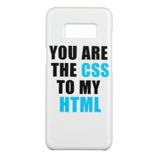 Capa Case-Mate Samsung Galaxy S8 Você é o CSS a meu HTML