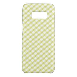 Capa Case-Mate Samsung Galaxy S8 Xadrez/verde limão Checkered
