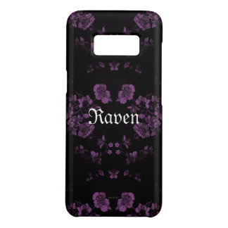 Capa Case-Mate Samsung Galaxy S8 *Your eterno gótico Name* Lavendar