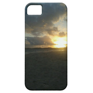 capa com uma bela paisagem de praia