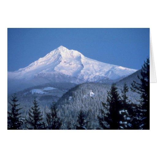 Capa da montagem, Oregon Cartão