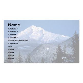 Capa da montagem Oregon Cartoes De Visitas