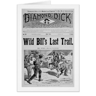 """Capa """"da última fuga de Bill selvagem"""", um bolo de Cartoes"""