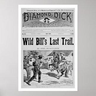 Capa da última fuga de Bill selvagem um bolo de Pôsteres