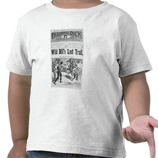 """Capa """"da última fuga de Bill selvagem"""", um bolo de T-shirts"""