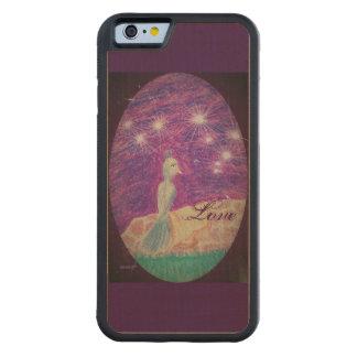 Capa De Bordo Bumper Para iPhone 6 A fantasia lírica Nightinggail escolhe a cor do
