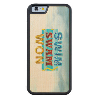 Capa De Bordo Bumper Para iPhone 6 A natação SUPERIOR nadou ganhado