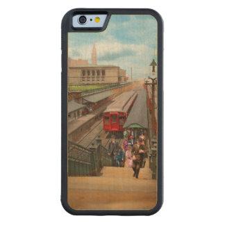 Capa De Bordo Bumper Para iPhone 6 Cidade - Chicago - a estação 1907 da rua de Van