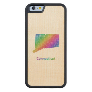 Capa De Bordo Bumper Para iPhone 6 Connecticut