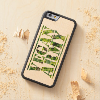 CAPA DE BORDO BUMPER PARA iPhone 6 EXÉRCITO DO VEGAN