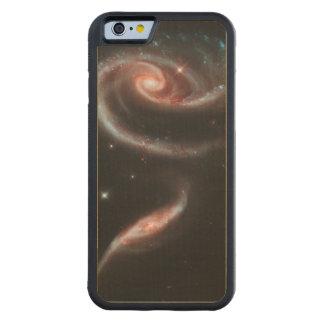 Capa De Bordo Bumper Para iPhone 6 Galáxia cor-de-rosa