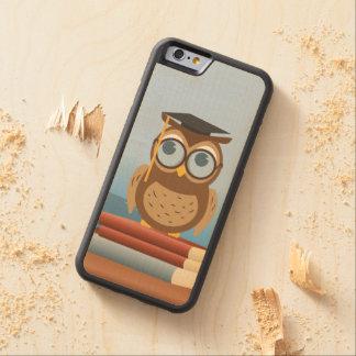 Capa De Bordo Bumper Para iPhone 6 Ilustração da coruja