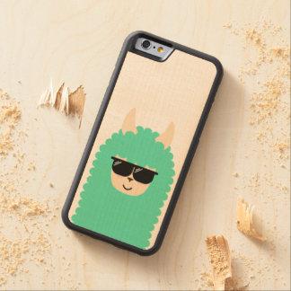 Capa De Bordo Bumper Para iPhone 6 Lama legal de Emoji