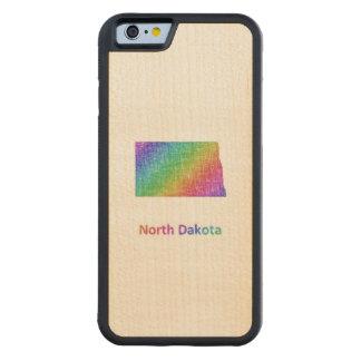 Capa De Bordo Bumper Para iPhone 6 North Dakota