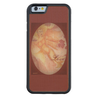 Capa De Bordo Bumper Para iPhone 6 O duende da rainha de Elven escolhe a cor do fundo