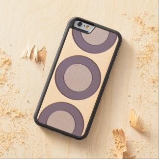 Capa De Bordo Bumper Para iPhone 6 Ponto do Lilac