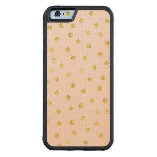 Capa De Bordo Bumper Para iPhone 6 Teste padrão de pontos elegante dos confetes da