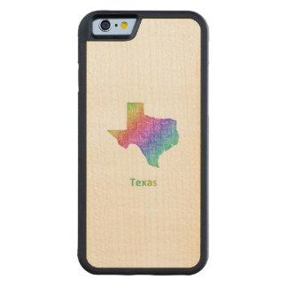Capa De Bordo Bumper Para iPhone 6 Texas