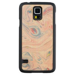 Capa De Bordo Para Galaxy S5 Arte moderna elegante Pastel do mármore luxuoso do