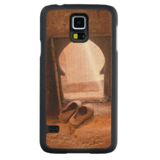 Capa De Bordo Para Galaxy S5 Calçados marroquinos na janela