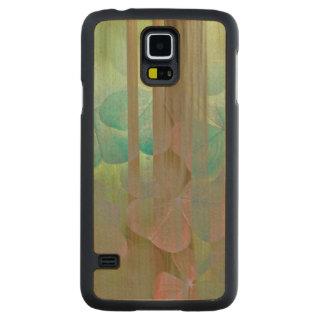 Capa De Bordo Para Galaxy S5 Colagem de Oxalis e de árvores | Seabeck, WA