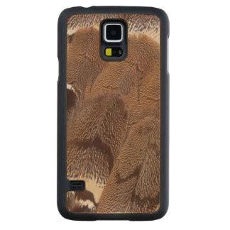 Capa De Bordo Para Galaxy S5 Design da pena de Brown