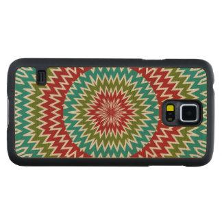 Capa De Bordo Para Galaxy S5 Flor mandalaic hipnótica
