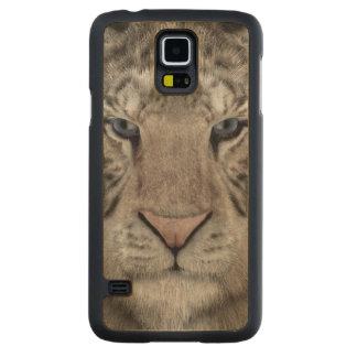 Capa De Bordo Para Galaxy S5 white_tiger_head