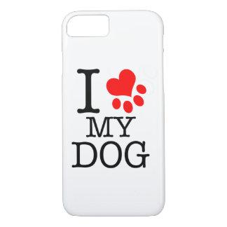 Capa de celular I love my dog