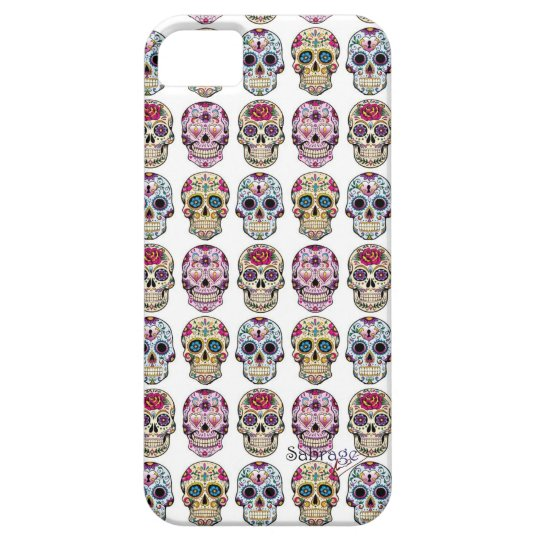 Capa de celular Iphone 5 Skull by Sabrage