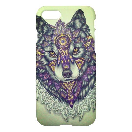 Capa de celular lobo