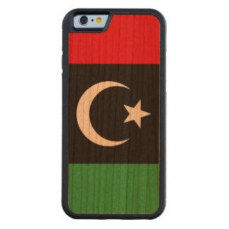 Capa De Cerejeira Bumper Para iPhone 6 Bandeira de Líbia