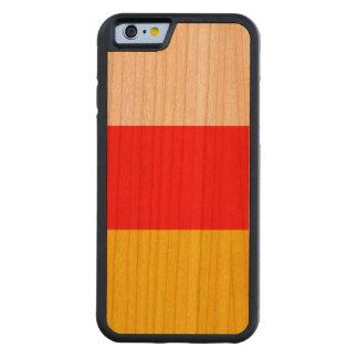 Capa De Cerejeira Bumper Para iPhone 6 Bandeira sul de Ossetia