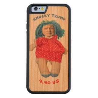 Capa De Cerejeira Bumper Para iPhone 6 Boneca de Chucky Donald Trump