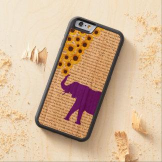Capa De Cerejeira Bumper Para iPhone 6 Elefantes, girassóis & Jane Eire