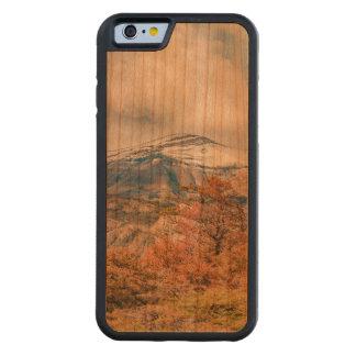 Capa De Cerejeira Bumper Para iPhone 6 Floresta e montanhas nevado, Patagonia, Argentina