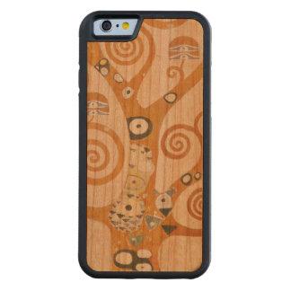 Capa De Cerejeira Bumper Para iPhone 6 Gustavo Klimt a árvore da arte Nouveau da vida