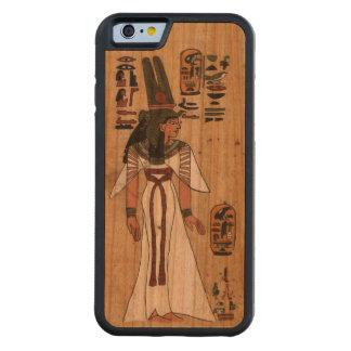 Capa De Cerejeira Bumper Para iPhone 6 Jeroglífico Pharaonic do papiro egípcio antigo