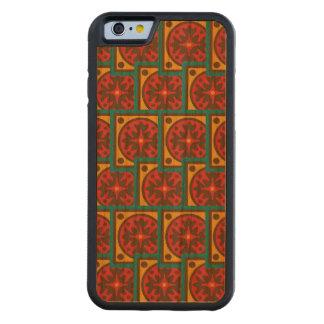 Capa De Cerejeira Bumper Para iPhone 6 Teste padrão da tapeçaria