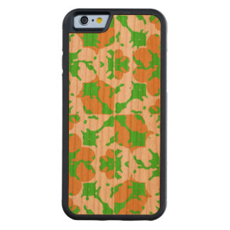 Capa De Cerejeira Bumper Para iPhone 6 Teste padrão floral gráfico