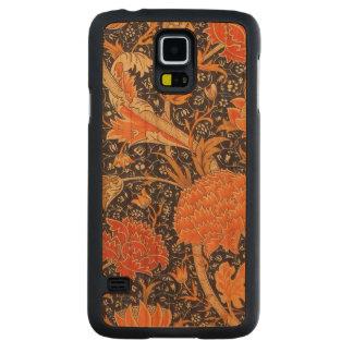 Capa De Cerejeira Para Galaxy S5 Teste padrão floral de Nouveau da arte de William