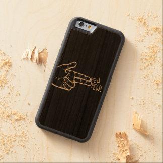 Capa De Cerejeira Para iPhone 6 caixa abundante da madeira da cereja do iPhone