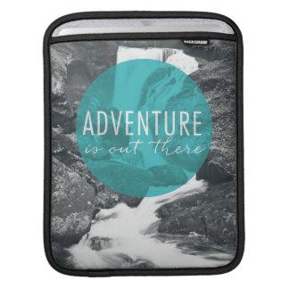 Capa De iPad A aventura dos rios   está para fora lá citações