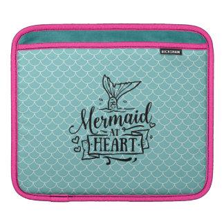 Capa De iPad almofada do iPad - sereia no coração