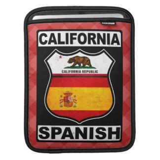 Capa de ipad americana espanhola de Califórnia
