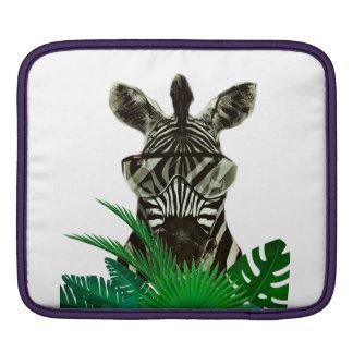 Capa De iPad Animal do estilo da zebra do hipster